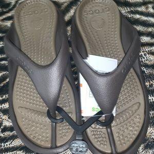 CROCS Shoes - Brown Crocs (Athens)